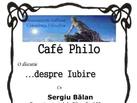 CAFÉ PHILO A BUCAREST