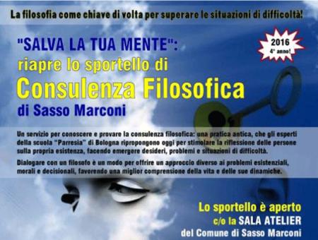 A Sasso Marconi la vita si prende con filosofia: un dialogo aperto con l'Assessore alla Cultura Dallea